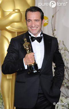 Jean Dujardin obtient l'Oscar du meilleur acteur pour The Artist