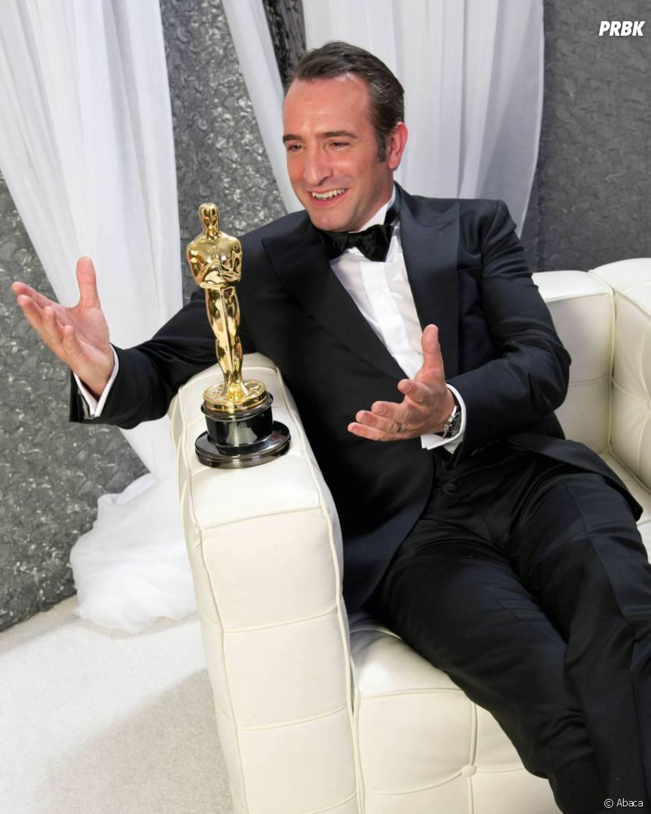Jean Dujardin sacré meilleur acteur aux Oscars 2012