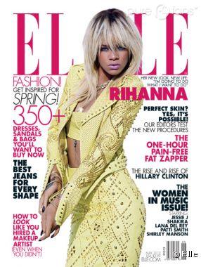 Rihanna parle de Chris Brown dans son interview pour Elle