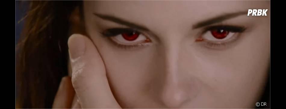 Bella et ses yeux rouges