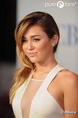 Miley Cyrus s'est fait un gros bobo !