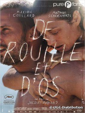 Marion Cotillard a tourné clandestinement le film De Rouille et d'Os