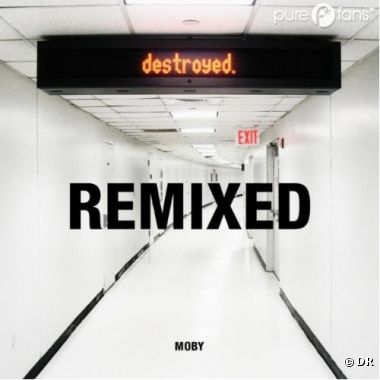 Moby de retour avec son nouvel album Destroyed Remixed