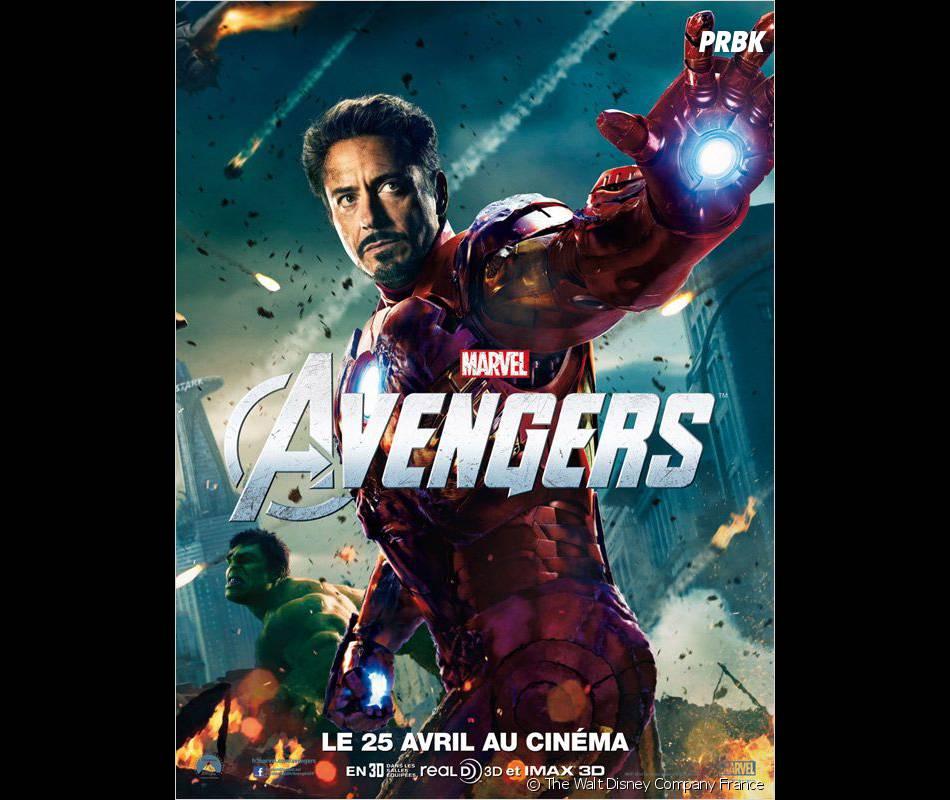Iron Man dans Avengers !
