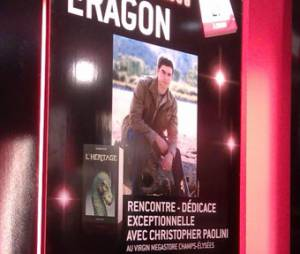 Ce vendredi, c'était l'événement au Virgin Megastore des Champs Elysées