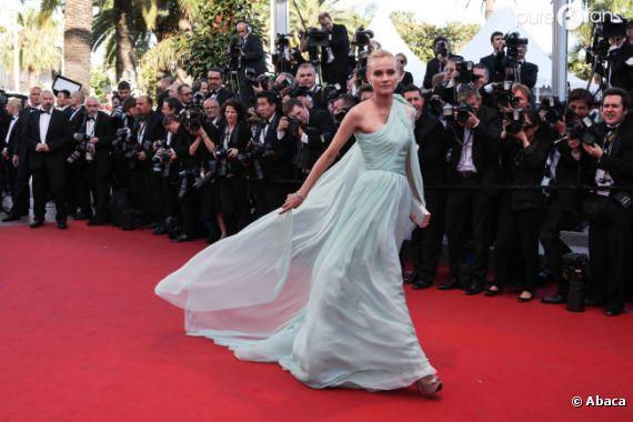 Diane Kruger, sublime sur le tapis rouge