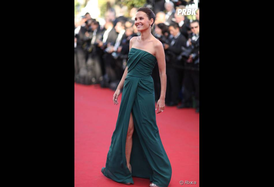 Virginie Ledoyen, sublime dans une robe verte
