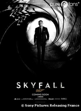 La première affiche de Skyfall