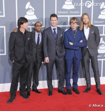 Les Maroon 5, un groupe qui cartonne