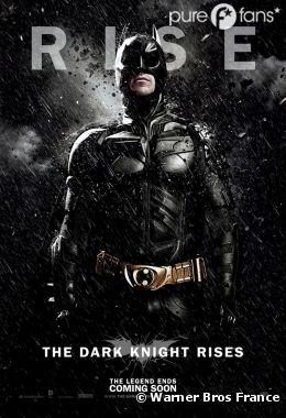 6 nouveaux posters de The Dark Knight Rises