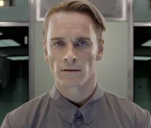 Michael Fassbender dans Prometheus