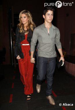 Nick Jonas et son ex cougar Delta Goodrem
