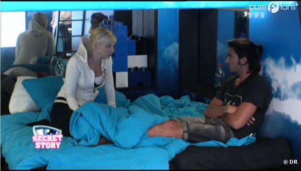 Thomas est au plus mal, Nadège essaie de le réconforter