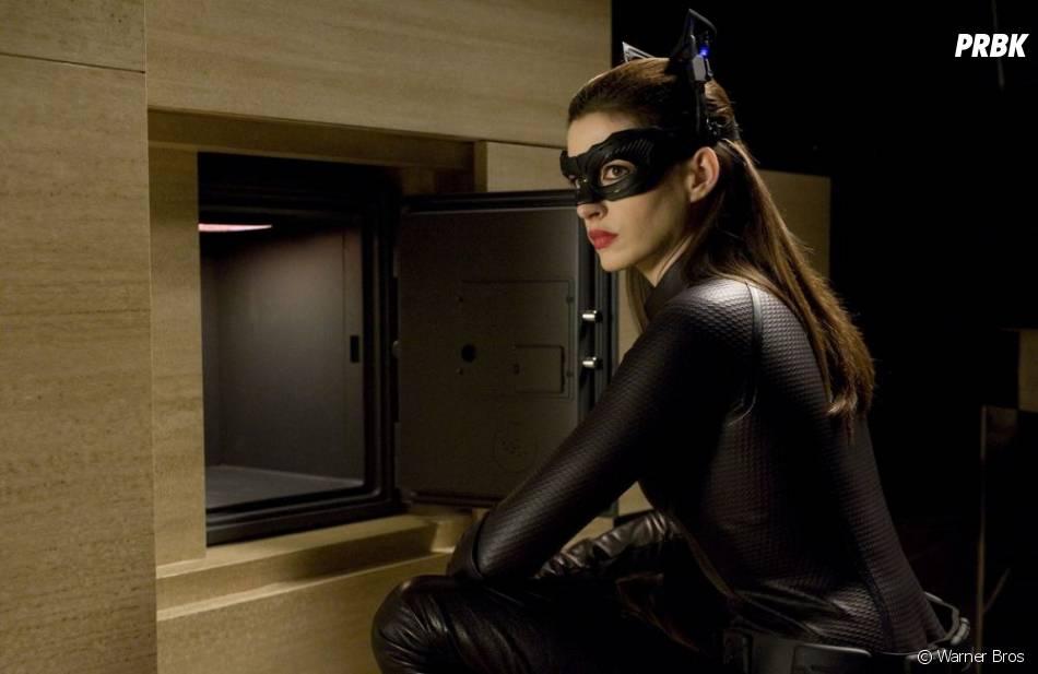 Le costume de Catwoman a fait des misères à Anne Hathaway