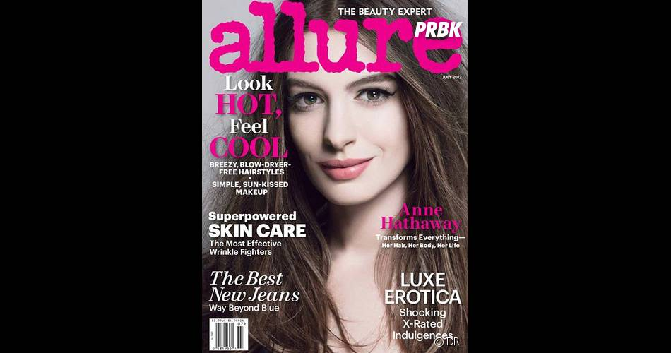 Anne Hathaway pour Allure