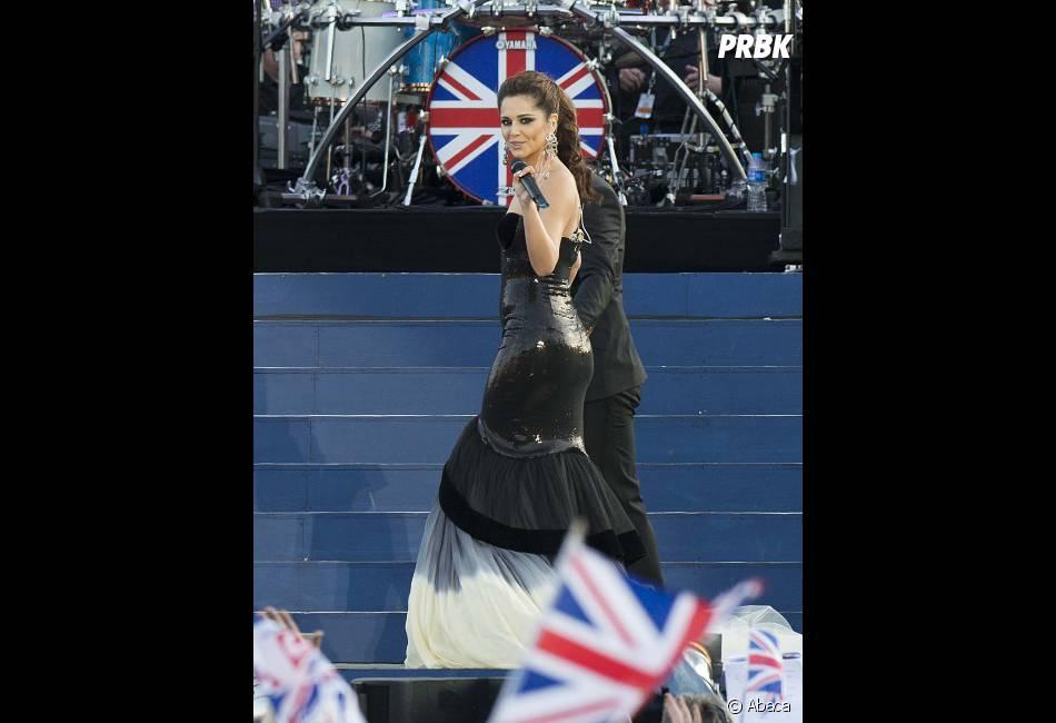 Cheryl Cole, star du jubilé de la Reine