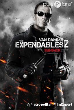 Jean-Claude Van Damme a rejoint le casting de The Expendables !