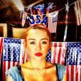 Miley Cyrus est miss USA