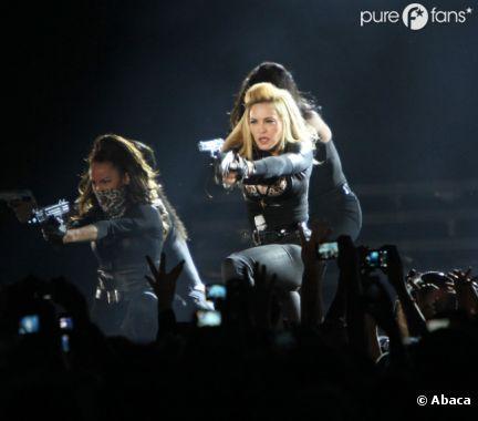 Madonna à l'Olympia après le Stade de France !