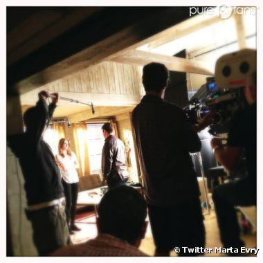 Première scène pour Nathan Fillion et Stana Katic pour la saison 5 Castle