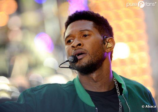 Usher est soutenu par ses amis et par ses fans