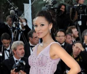 Cindy Fabre sublime en mai dernier au Festival de Cannes 2012