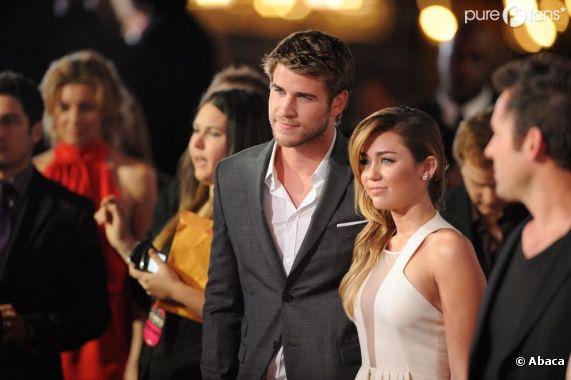 Miley Cyrus et Liam Hemsworth n'ont pas toujours eu le sourire !