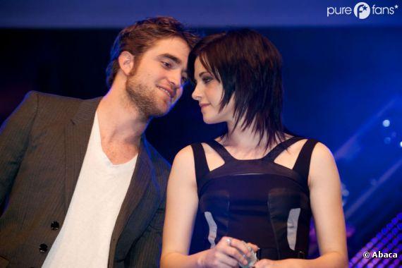 Robert Pattinson et Kristen Stewart, c'est reparti pour un tour