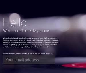 Le nouveau Myspace arrive bientôt et se veut rassurant