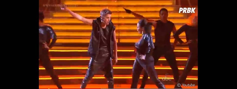 Justin Bieber avait préparé une choré de folie !