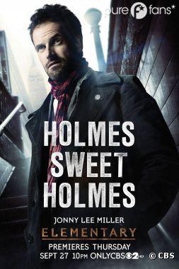 Sherlock Holmes est le personnage principal de la série Elementary