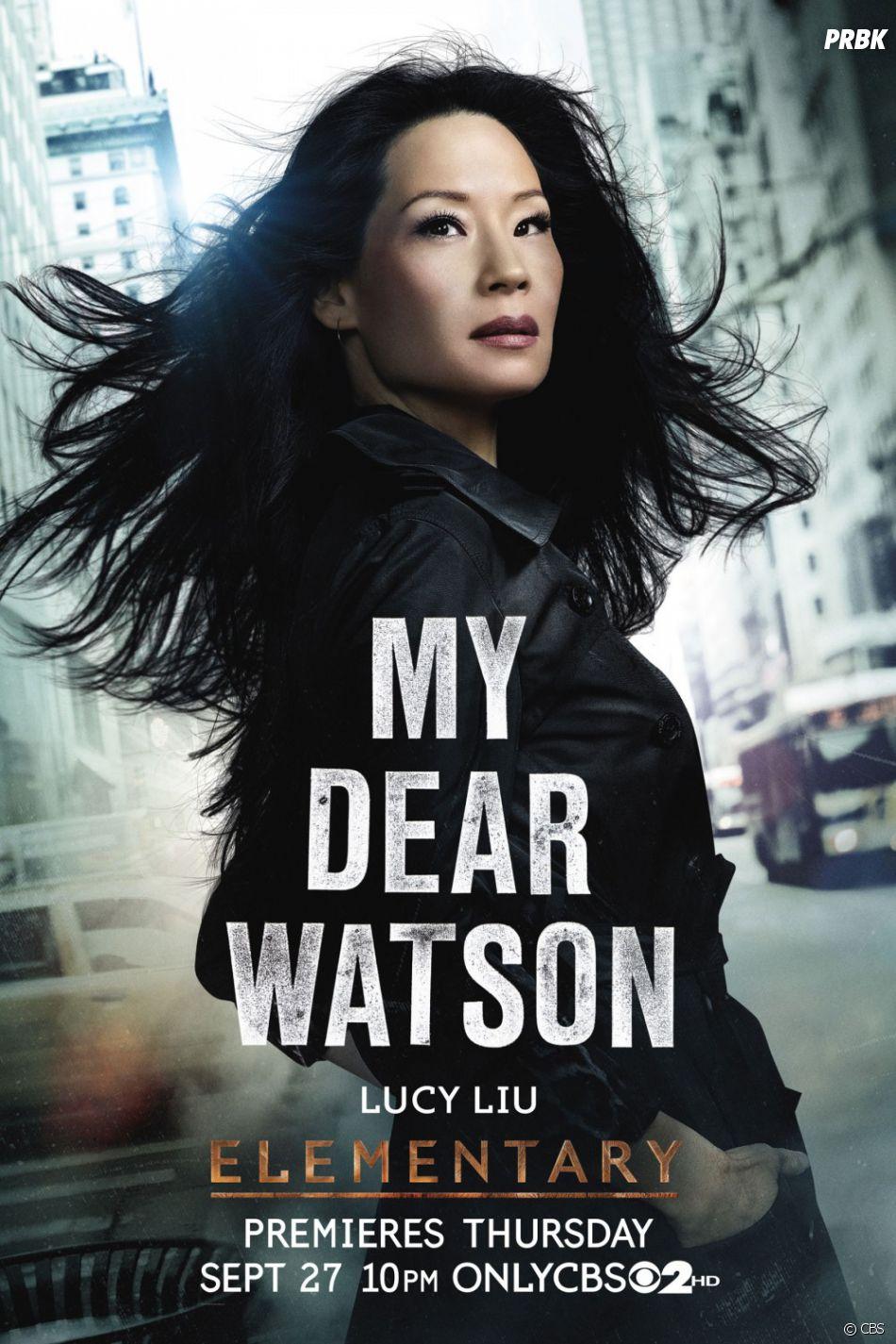 Ici, le Dr Watson est incarnée par Lucy Liu