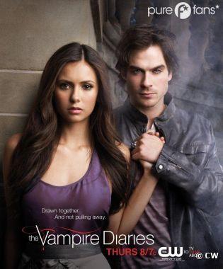 Nina Dobrev et Ian Somerhalder nous en disent plus sur un scène sexy de la saison 4 de Vampire Diaries