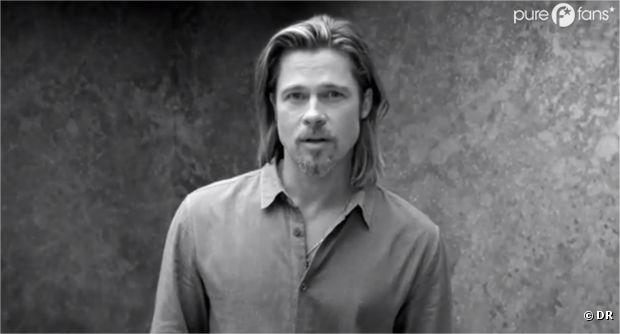 Brad Pitt, so sexy pour la pub de Chanel n°5 !