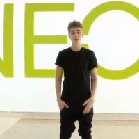Justin Bieber superstar : nouvelle égérie en or de Neo Adidas ! (VIDEO)