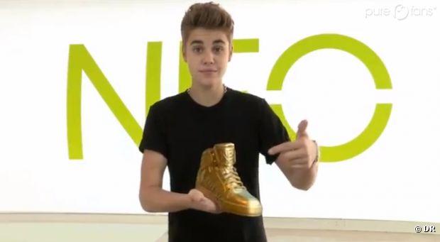Justin En Or Neo Adidas Égérie Bieber De SuperstarNouvelle T1clFJK