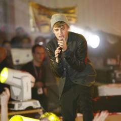 Justin Bieber : après le vomi... c'est la chute ! (VIDEO)