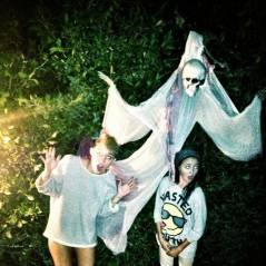Miley Cyrus à moitié nue pour Halloween ! Vivement son vrai déguisement ! (PHOTO)