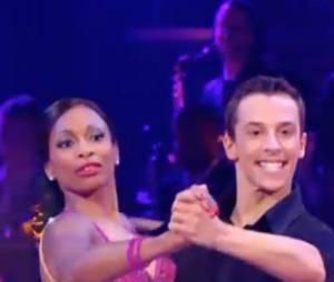 Laura Flessel danse le tango sur Perche Ti Amo