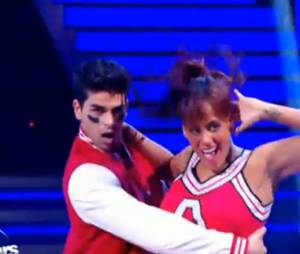 Amel Bent danse un jive sur Fallait pas commencer