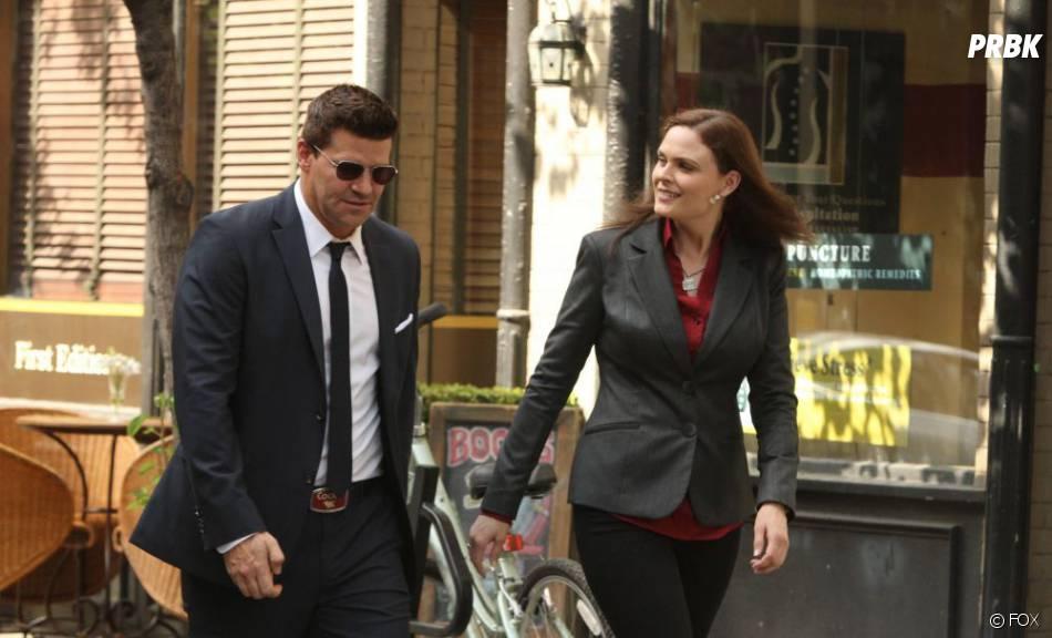Booth et Brennan toujours complices dans  Bones