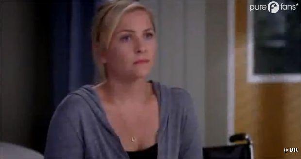 Arizona en mode déprime dans Grey's Anatomy