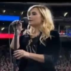 Demi Lovato : son émouvante interprétation de l'hymne américain (VIDEO)