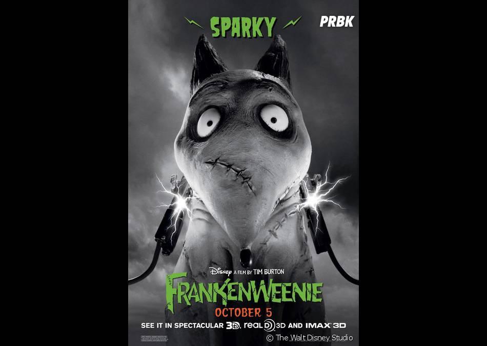 Sparky, le chien bizarre et touchant de Tim Burton