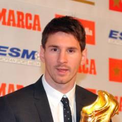 Messi papa : un mini Soulier d'Or et une tétine pour la naissance de son fils (PHOTOS)