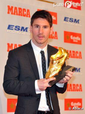 Lionel Messi, Soulier d'Or 2012