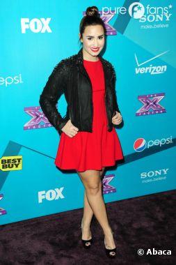 Demi Lovato, canon en brune