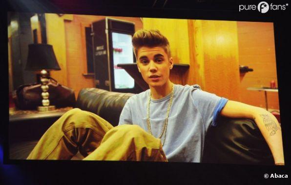 Absent à cause de sa tournée, Justin Bieber a enregistré un message pour les MTV EMA
