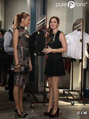 Réunion de BFF dans l'épisode 7 de la saison 6 de Gossip Girl