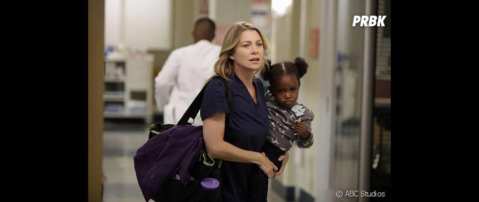 Meredith va avoir un bébé dans Grey's Anatomy